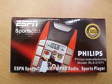 Philips RLS01011 Radio Sports Player ESPN Sports Cast AM/FM/PRO