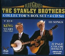 The Stanley Brothers - King Years 1961-1965 [New CD] Boxed Set