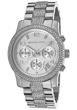 Michael Kors Silver Case Wristwatches