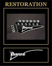 STICKER STICKER DECAL IBANEZ HEADSTOCK RESTAURO GUITARRRA GUITAR
