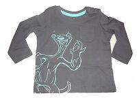 NEU tolles Langarm Shirt Gr. 74 / 80 dunkelblau mit Ice Age Motiv !!