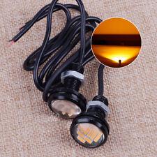 2x 23mm Amber LED Eagle Eye Turn Signal DRL Lamp for Jeep TJ CJ JK YJ Wrangler
