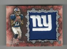 ODELL BECKHAM 2014 TOPPS INCEPTION NY LOGO COLOSSAL PATCH #1/1 RC SICK!!