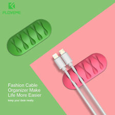 Cable Winder Organizer Wire Storage Charger Cable Holder Clips For Phone Cable F