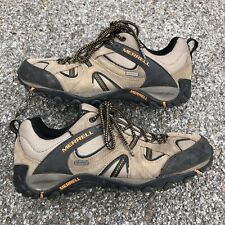 Merrell Waterproof Men's Walnut Hiking Trail Shoes Brown Low Top Lace Up Size 11