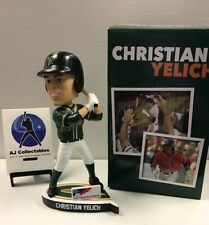 2019 CHRISTIAN YELICH GREENSBORO GRASSHOPPERS MILWAUKEE BREWERS BOBBLEHEAD NIB