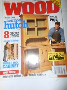 Better Homes & Gardens WOOD Magazine   March  2003 #147 includes patterns