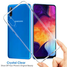 For Samsung Galaxy A50 A40 10e A70 A80 Clear Soft Silicone Shockproof Case Cover