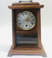 Hermle Pendulum Mantle Clock 771-0 Not Tested Parts/Repair. See Description
