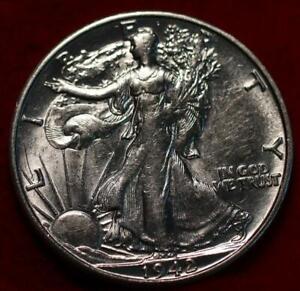 Uncirculated 1942-S San Francisco Mint Silver Walking Liberty Half