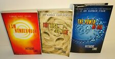 I AM NUMBER FOUR LOT 1-3 LORIEN LEGACIES SERIES SET BY PITTACUS LORE HC & PB'S