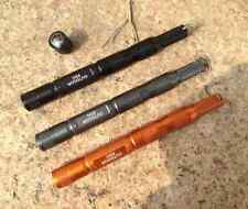 EDC Gear Tool CNC Magnesium Bar Flint Fire Starter Waterproof Survival Tool  E