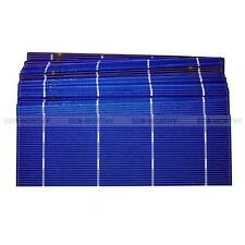 20 Pieces 2x6 in 156x52mm Solar Cell Cells 1.37 Wp Power for DIY Epoxy Panel