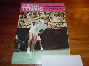 "VINTAGE JANUARY 1971 "" WORLD  TENNIS "" MAGAZINE"