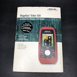 Magellan Triton 400 Handheld GPS Navigation-Hiking Tracking Geocaching