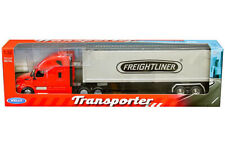 Welly 1/32 Transporter Freightliner Cascadia & Container Model Red 32696W-RD
