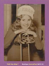 PHOTO DE PRESSE 1960 : BRIGITTE BARAZER DE LANNURIEN, MISS FRANCE 1960 -S12