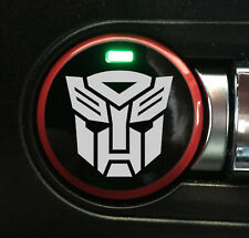 2015-2018 Mustang [PBSH_AB] Push Button Start - Autobot - Vinyl Overlay