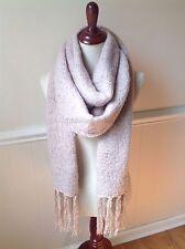 Women's Soft Extra Long Winter Scarf BOHO Knit Luxurious Shawl Fringe Oversize