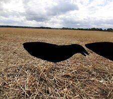 Crow Decoys set of 6 Sillosock Crow Decoys