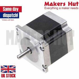 Nema23 56mm 0.9 degree 400 Step 8mm Shaft Stepper Motor 56.4x56.4x56mm 1.2Nm