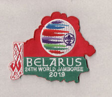 2019 World Scout Jamboree BELARUS Contingent badge