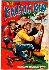 NAT PRESENTE : KANSAS KID n°66 ¤ 1956 ¤ PERIODIQUES EDITIONS ILLUSTREES
