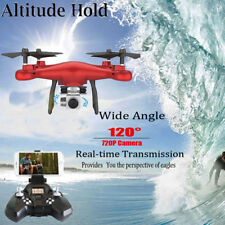 2.4G Altitude Hold 720P Hd Camera Quadcopter Rc Drone WiFi Fpv Live Helicopter