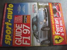 $$q Revue sport auto N°422 F1 97  Porsche 911 CTR2  50ans Ferrari  Audi A6