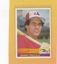 1984 DONRUSS BASEBALL #575 MANNY TRILLO EXPOS NRMT *63184
