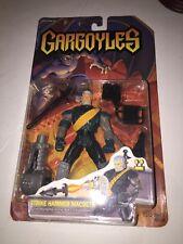 1995 Gargoyles Strike Hammer Macbeth  w/Pounding Stone Blaster Weapon SEALED