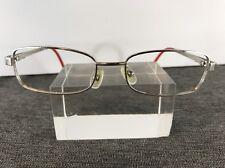 Benetton Eyeglasses BE036U1 51-16-130 Silver/Red D385