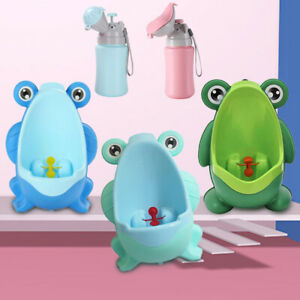 Boy Kids Baby Frog Toilet Training Potty Urinal Pee Trainer Urine Home Bathroom