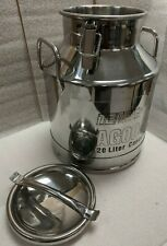 Temco 20 Liter 525 Gallon Stainless Steel Milk Can Wine Pail Bucket 20 Off