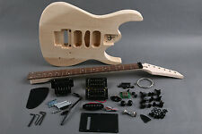 Kit DIY Guitarra eléctrica JS Tilo - Unfinished electric guitar DIY Jackson JS