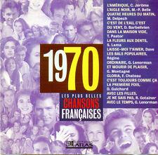 CD Les plus belles chansons 1970 RARE Gerard Lenorman Serge Lama Dave Régine
