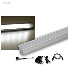 3er Set LED Alu-Eck-Leiste kaltweiß + Trafo Unterbauleuchte Küchenlampe Streifen