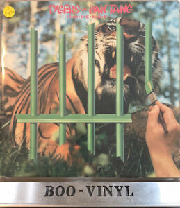 TYGERS OF PAN TANG - THE CAGE - ORIGINAL UK VINYL LP 1982 - A1-B1 METAL EX/VG