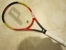 PRINCE PRECISION EQUIPE OVERSIZE RACQUET (4 1/2) NEW STRINGS / GRIP!!