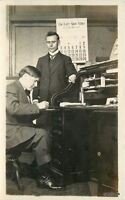 1909 Clinton Indiana Last Shoe Store Calendar Office Workers Illinois 2072
