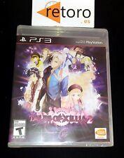 TALES OF XILLIA 2 SONY PLAYSTATION 3 PS3 NTSC USA NUEVO NEW SEAL PRECINTADO RPG