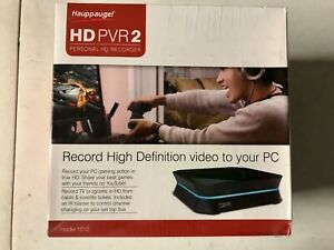Hauppauge HD PVR2 Brand New in Sealed Box PVR 2 Personal HD Recorder Hauppauge!