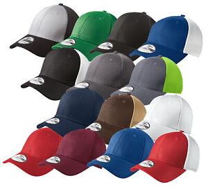 New Era 39THIRTY Mesh Back Flex Stretch Hat Blank Cap