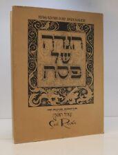 Saul Raskin, Hagadah for Passover, Academy Photo Offset 1941 w/ DJ