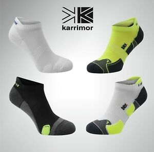 Pack of 2 Pairs Mens Running Socks Low Rise Trainer Gym Anti Odour Ergonomic Fit