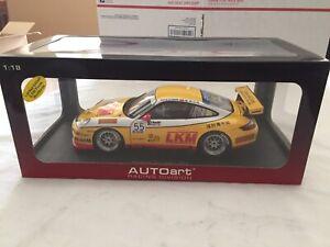 AUTOart 80785 Porsche 911 997 GT3 Cup 2007 Team Jebsen D.O'Young #55 1:18 *NIB*