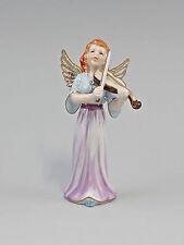 Porzellan Figur  Engel mit Geige bunt gold Othengrafen 9987231
