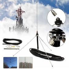 15M 0.5-30W Cable Powerful 1/4 Wavelength GP Antenna For  Watt FM Transmitter US