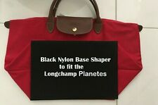 Black Nylon Base Shaper Board 4 LongChamp Planetes Long Handle Small