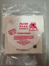 Original Buon Vino Mini Jet Filter Pad #2. Wine Making and Filtering 3 Pads